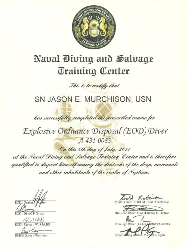 Dive Certification