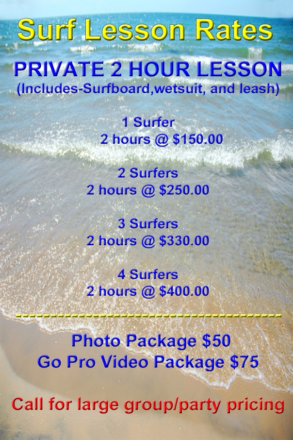 Surf Lesson Rates